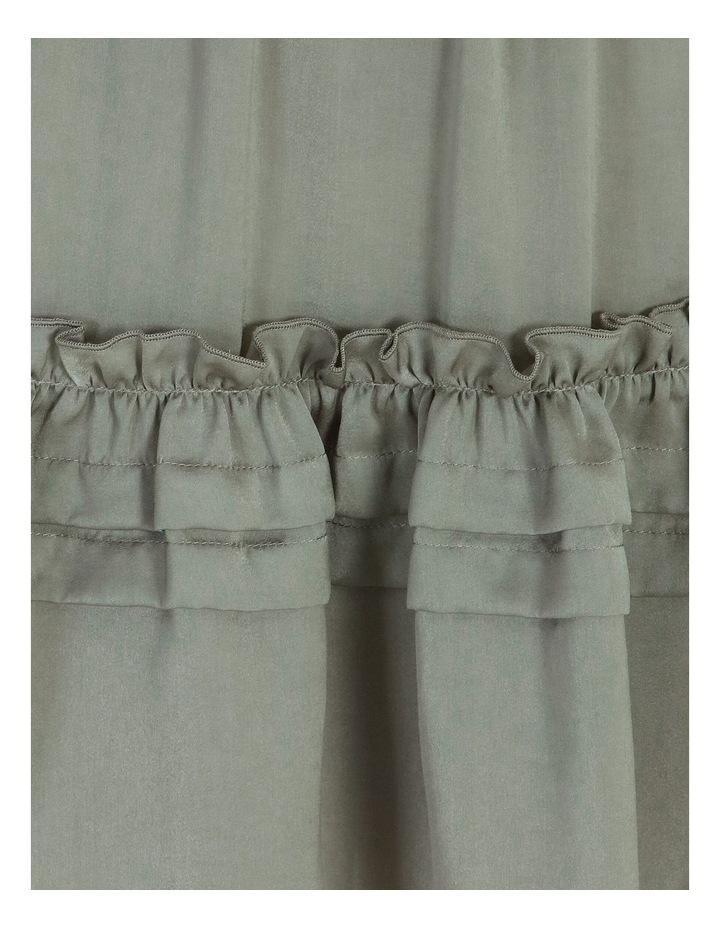 V-Neck Ruffle Skirt Boho Dress image 6