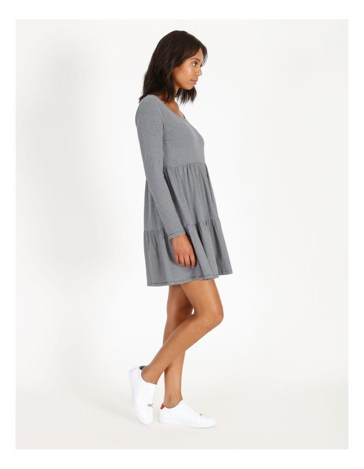 Long Sleeve Tiered Dress image 1
