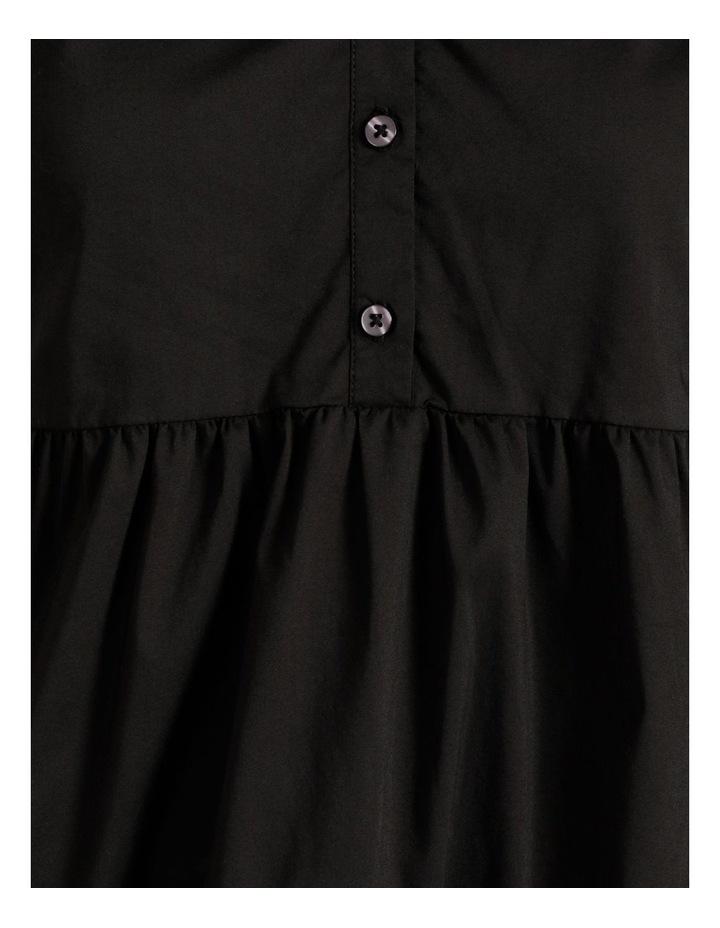 3/4 Sleeve Tiered Shirt Dress image 5