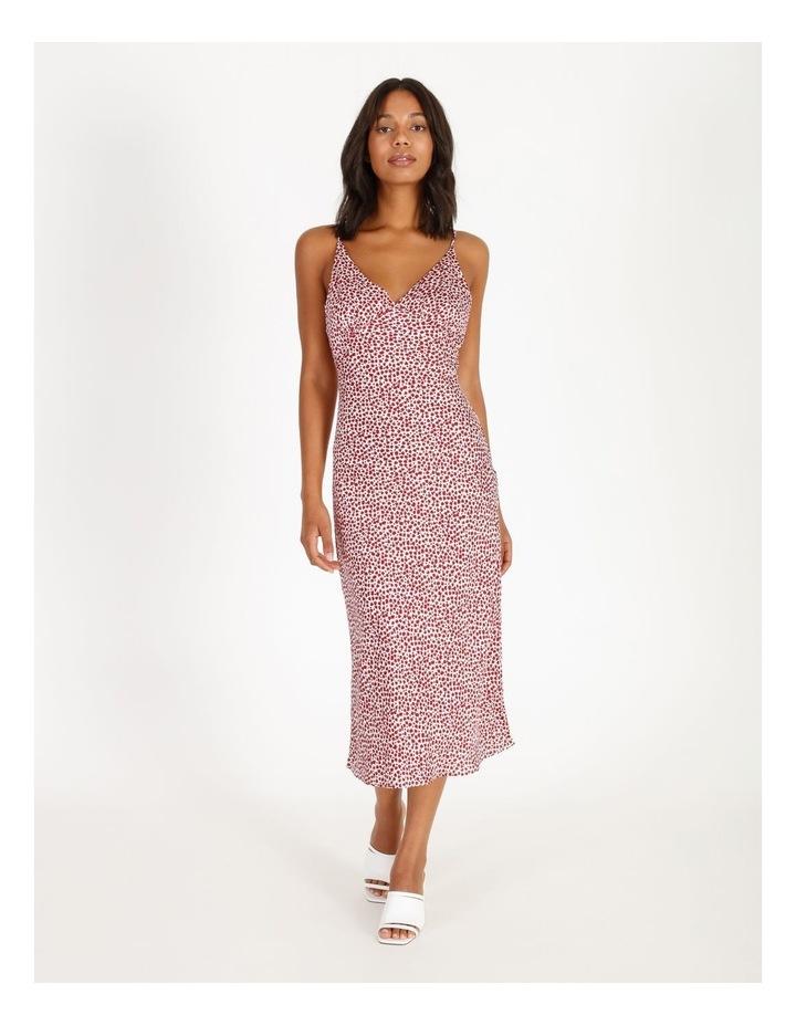 Ditsy Print Midi Slip Dress image 1
