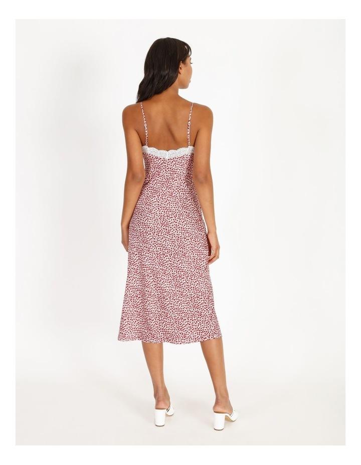 Ditsy Print Midi Slip Dress image 3