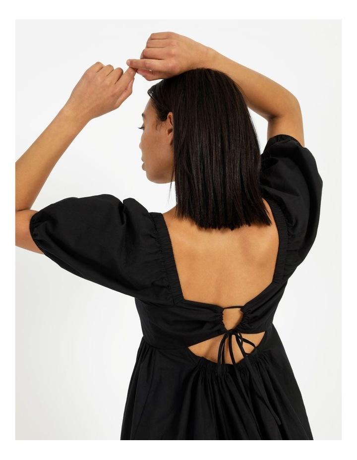 Back Detail Puff Sleeve Dress image 6