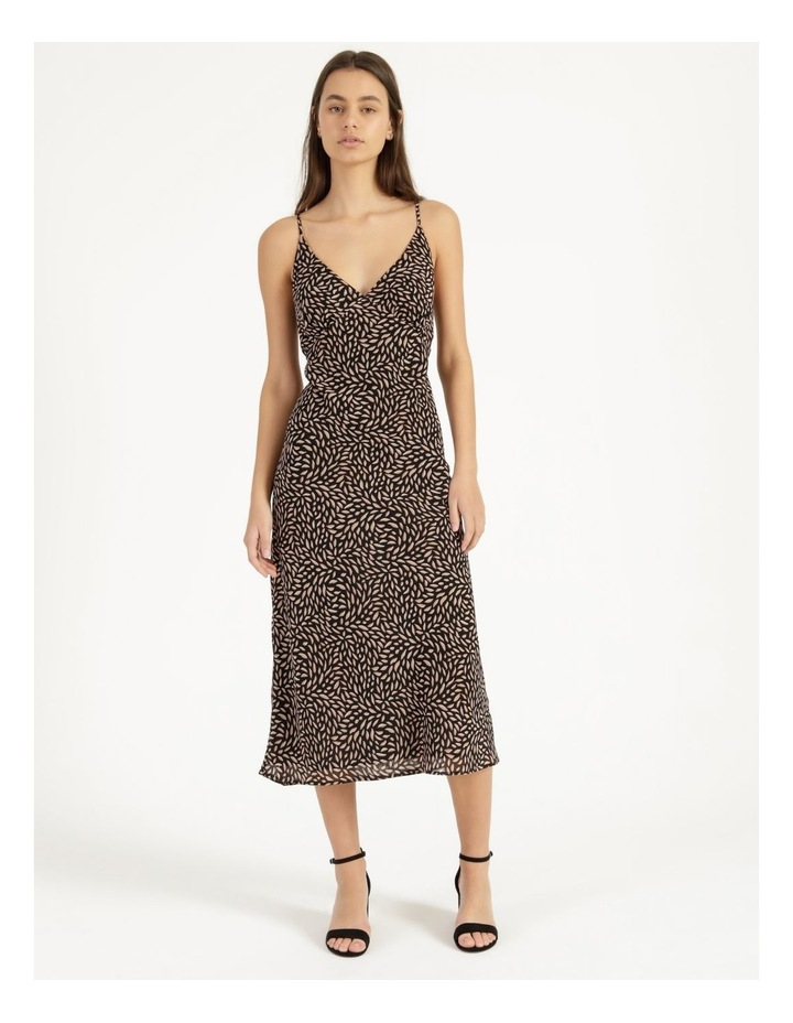 Double Georgette Midi Dress image 1