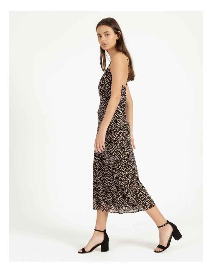 Double Georgette Midi Dress image 3