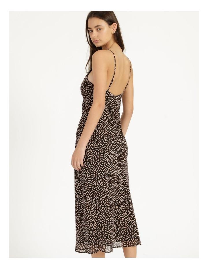 Double Georgette Midi Dress image 4