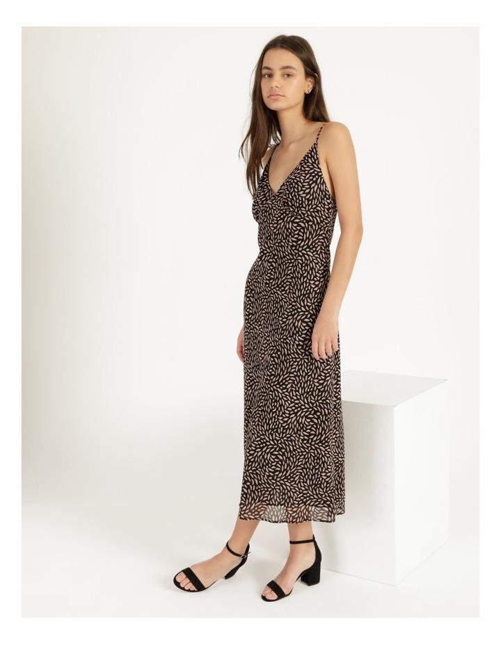 Double Georgette Midi Dress image 6