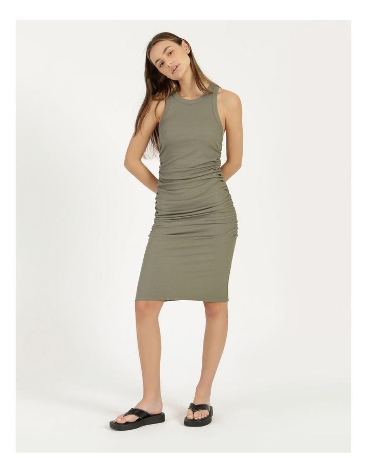 Ruched Midi Dress image 1