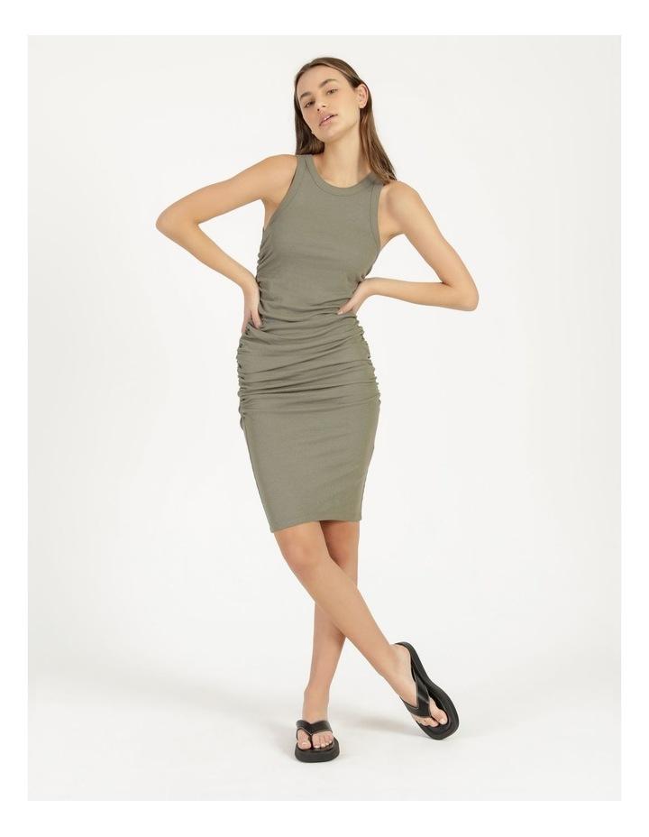 Ruched Midi Dress image 4