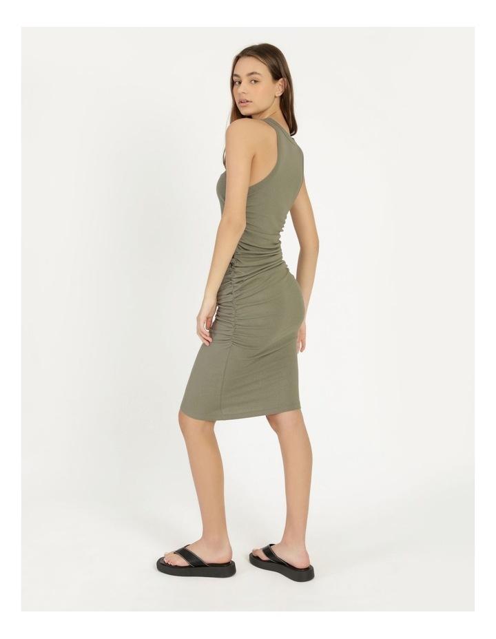 Ruched Midi Dress image 5
