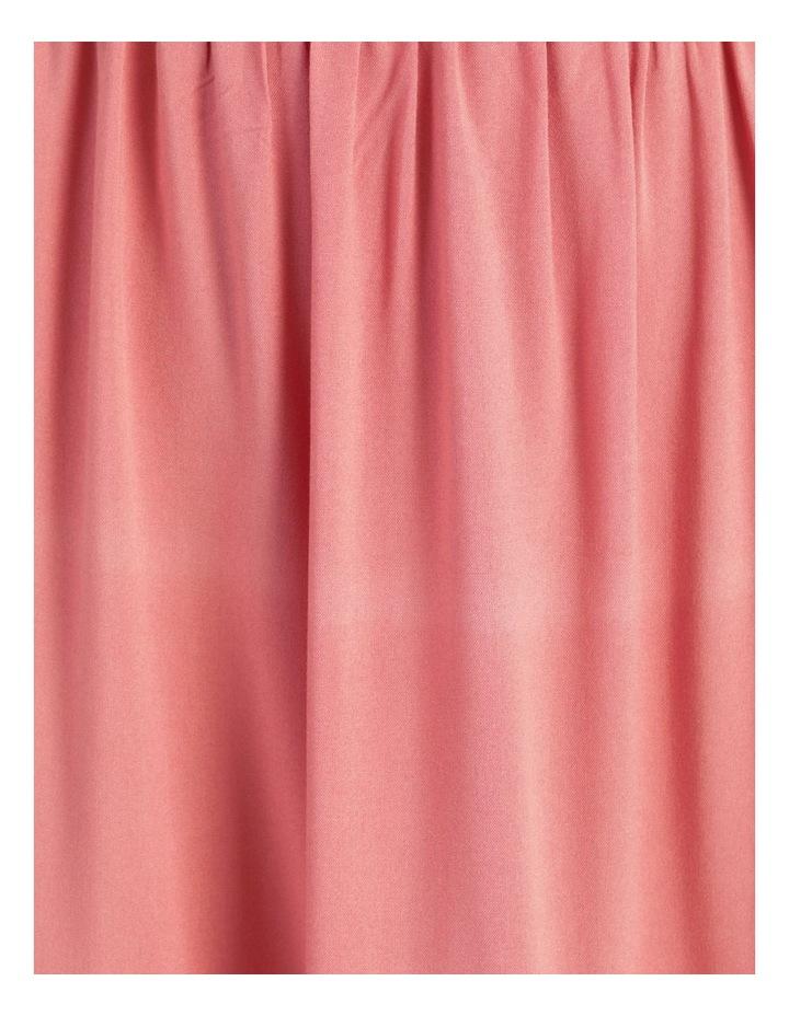 Tiered Midi Dress Dusty Rose image 7