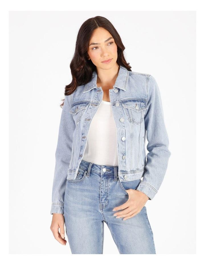 Denim Jacket - Light Blue image 1