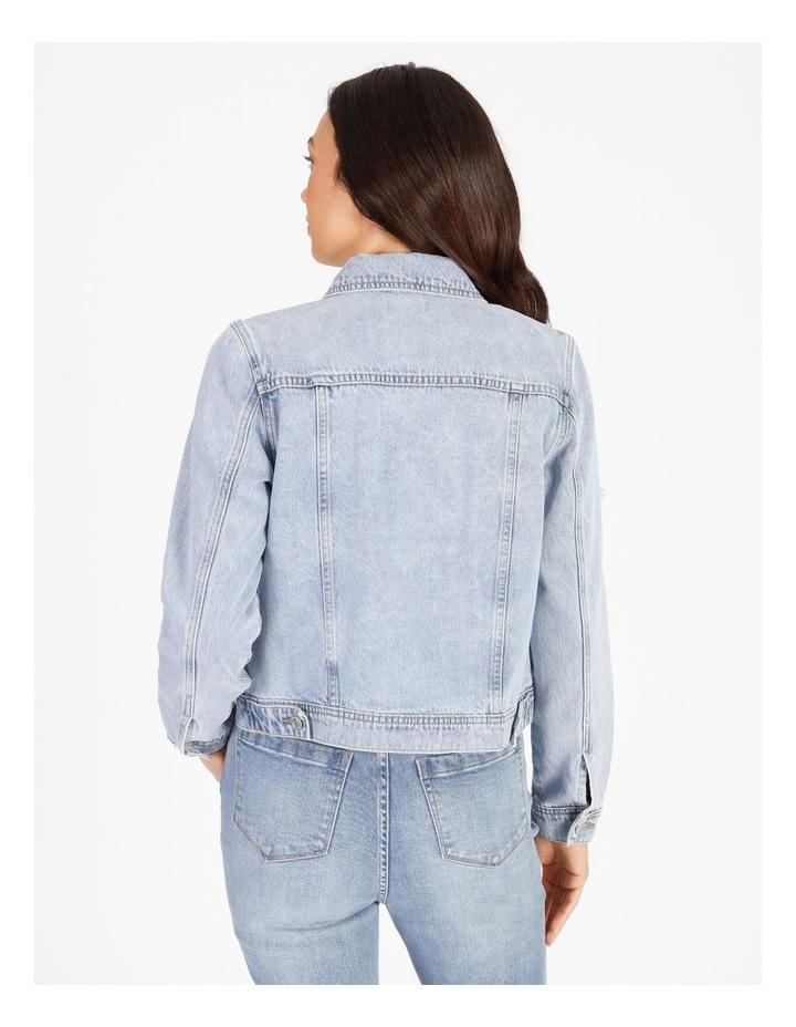 Denim Jacket - Light Blue image 3