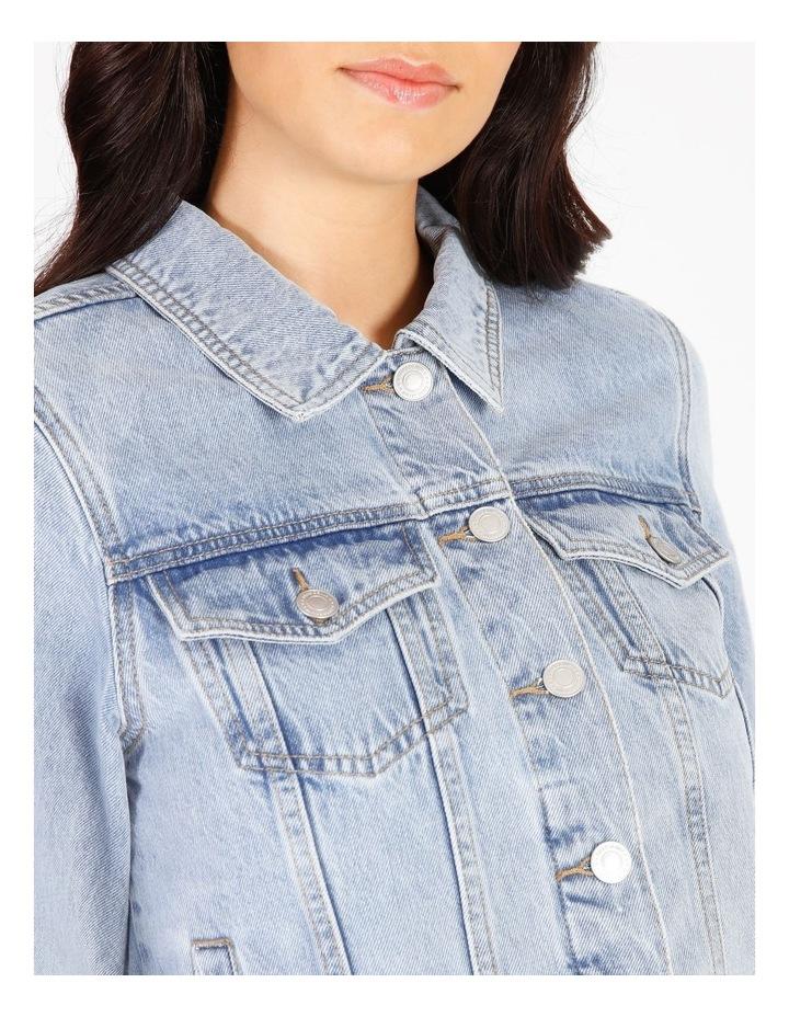 Denim Jacket - Light Blue image 5