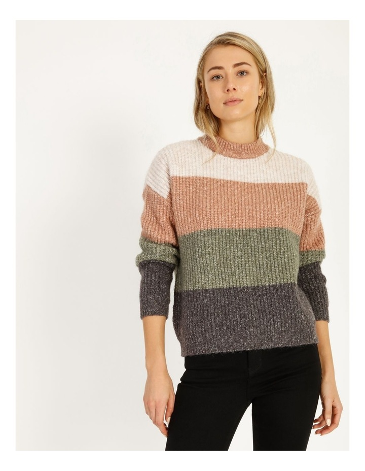 Chunky Stand Neck Jumper image 1