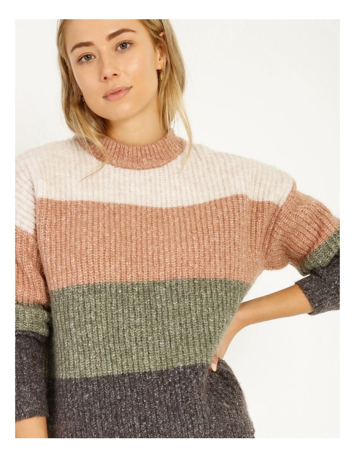 Chunky Stand Neck Jumper image 2