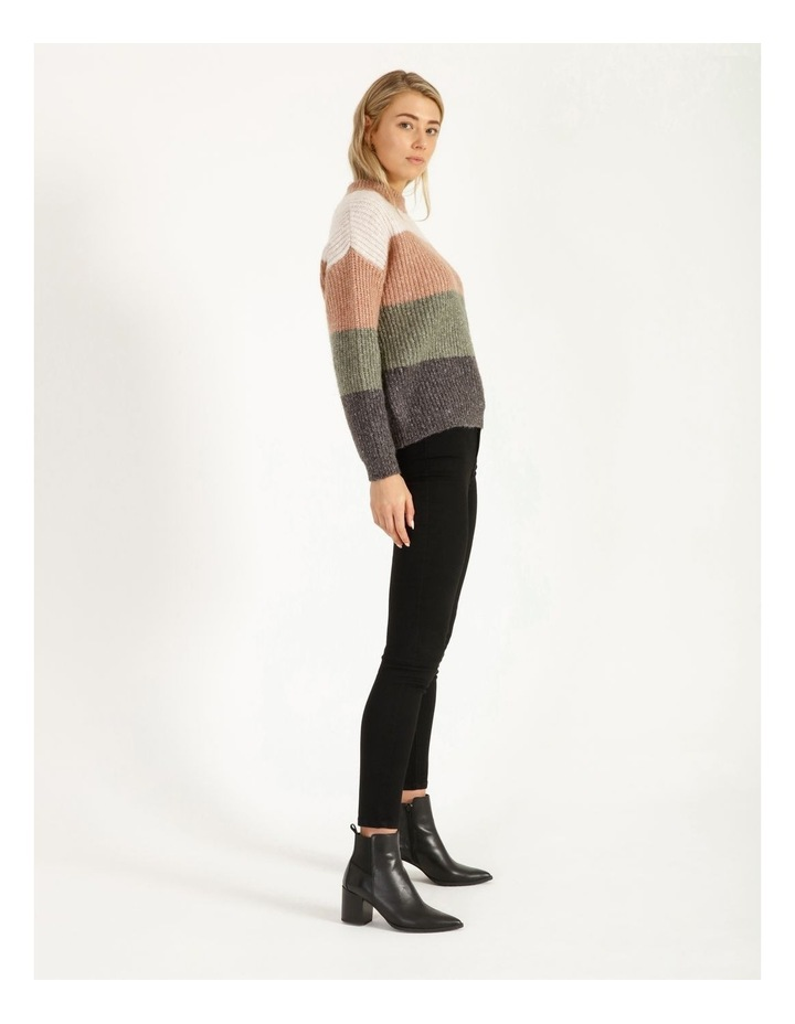 Chunky Stand Neck Jumper image 3