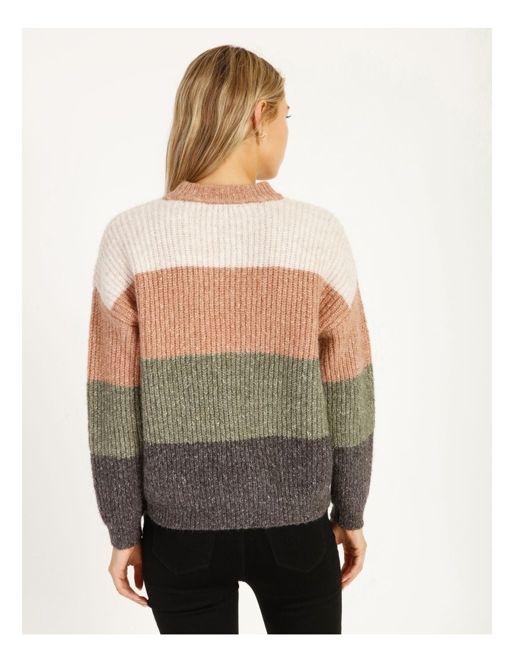 Chunky Stand Neck Jumper image 4