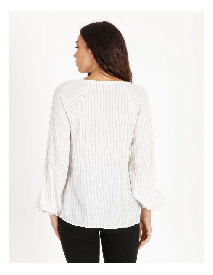 Relaxed Long Sleeve Top image 3