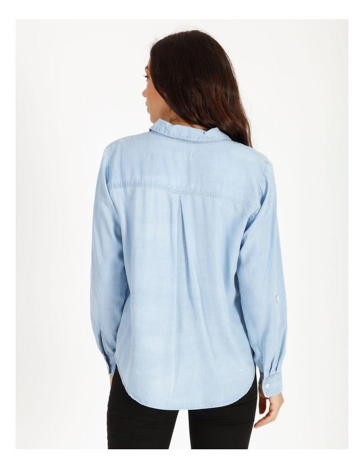 Chambray Relaxed Shirt image 3