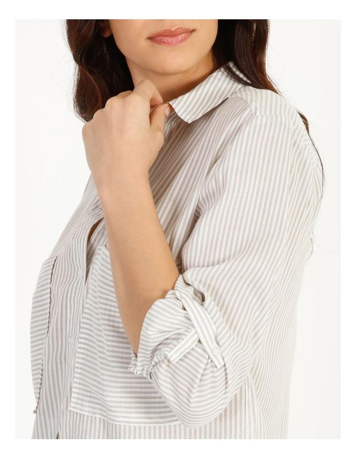 Relaxed Utility Stripe Shirt image 5