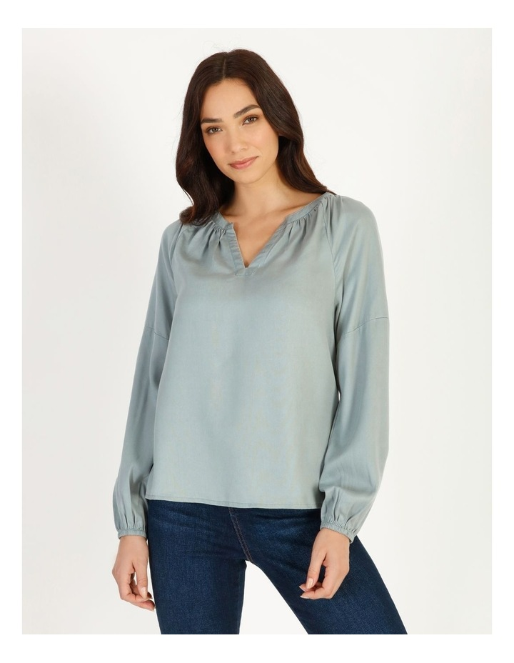 Relaxed Long Sleeve Top image 1
