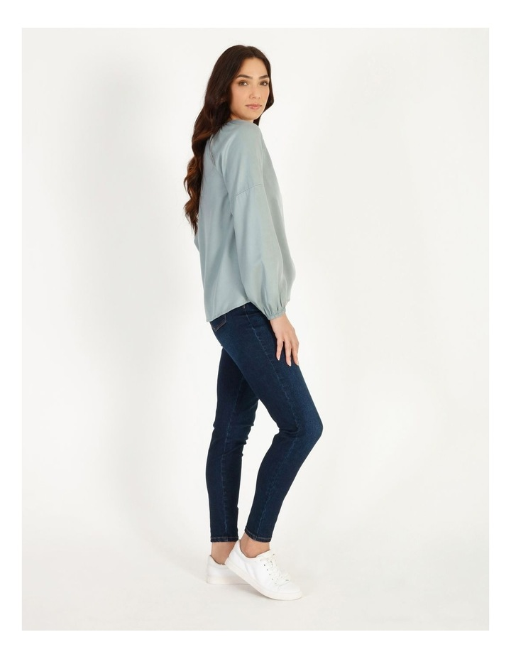 Relaxed Long Sleeve Top image 2