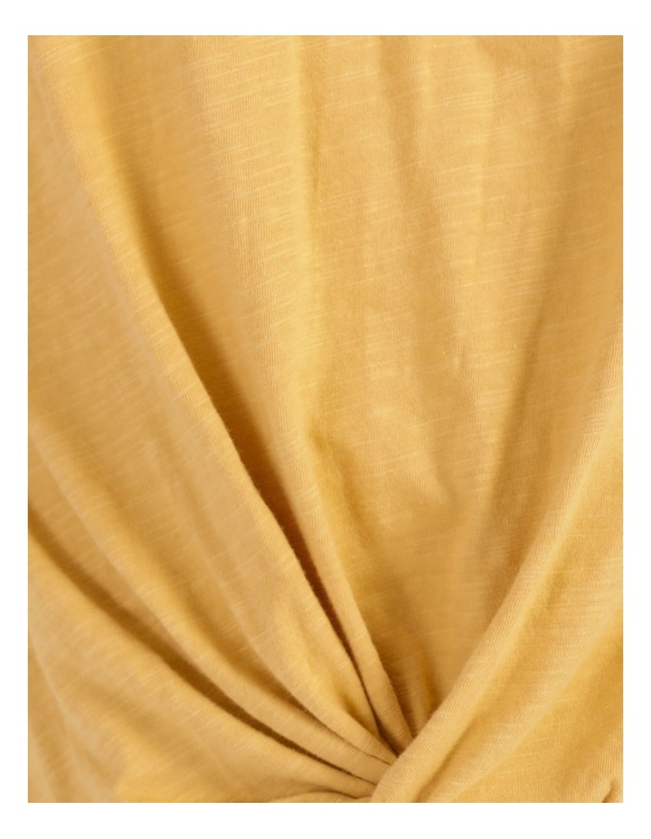 Twist Front Tee Marigold image 7