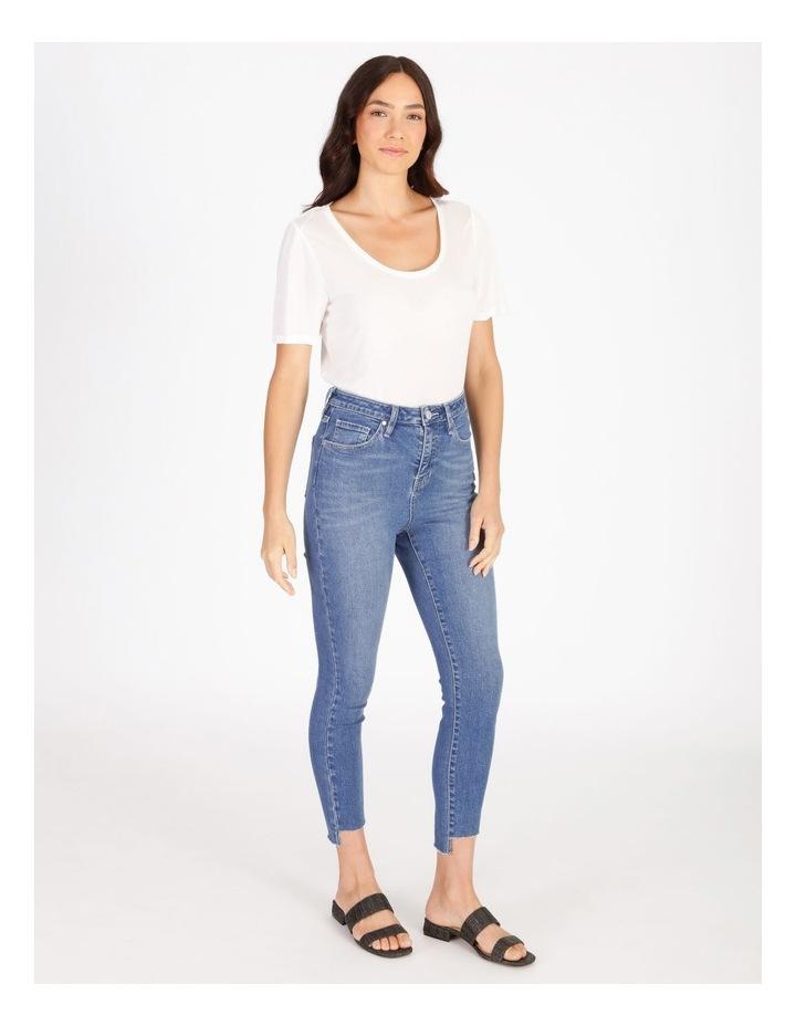 Olivia Crop Skinny Jean With Step Hem image 2