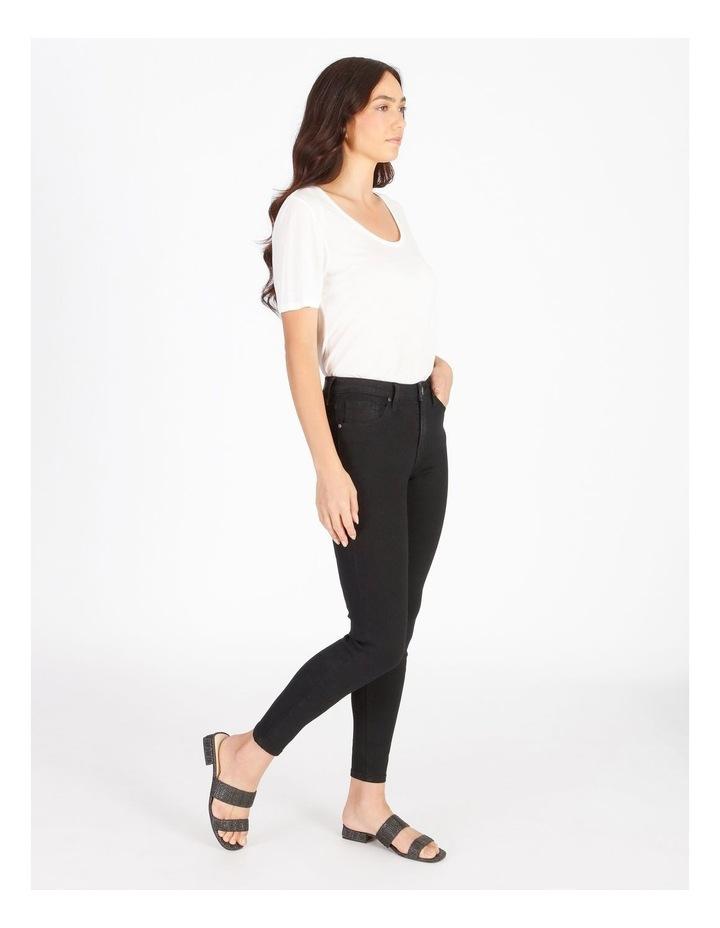 Nadia Mid Rise Skinny Jean image 3