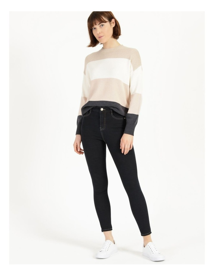 Premium Shapewear Dark Blue Skinny Jean image 1