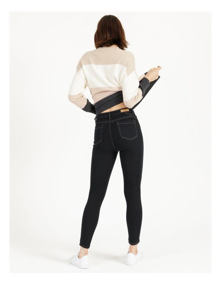 Premium Shapewear Dark Blue Skinny Jean image 2