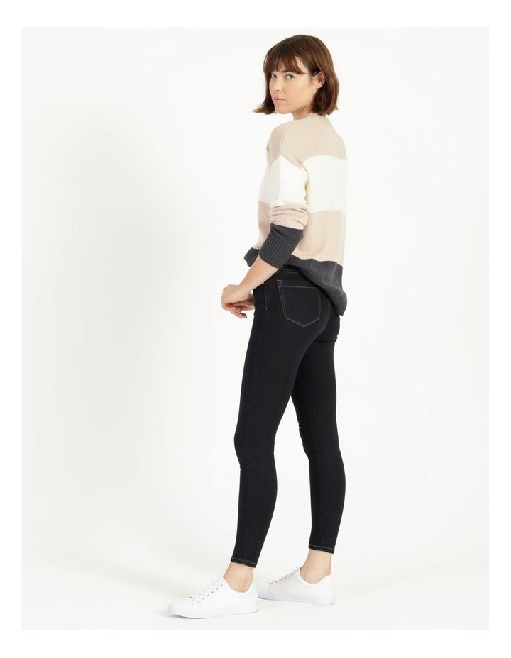 Premium Shapewear Dark Blue Skinny Jean image 5