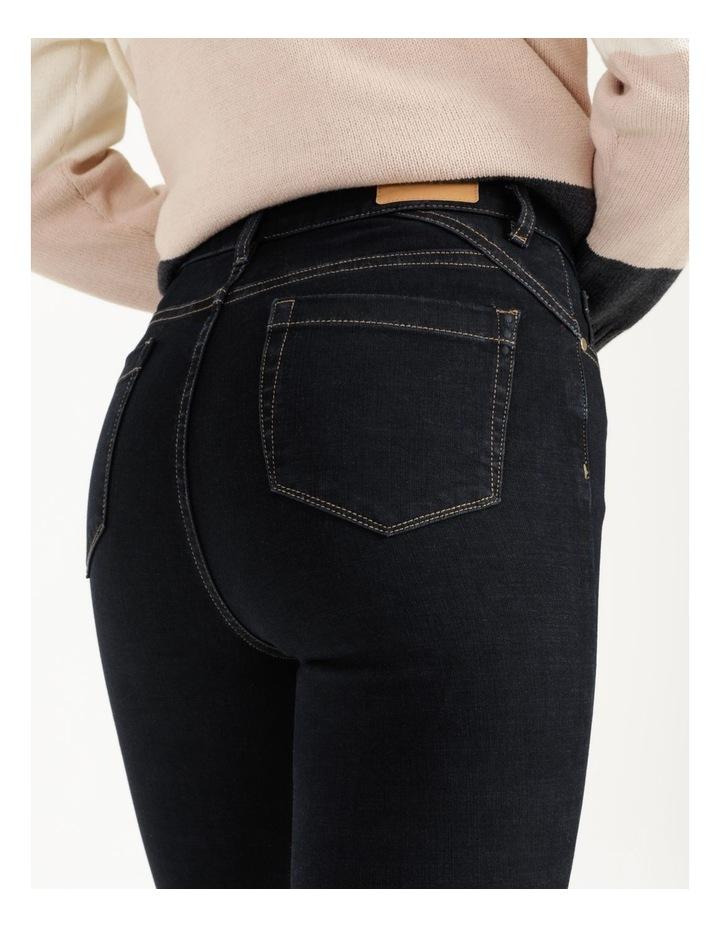 Premium Shapewear Dark Blue Skinny Jean image 6
