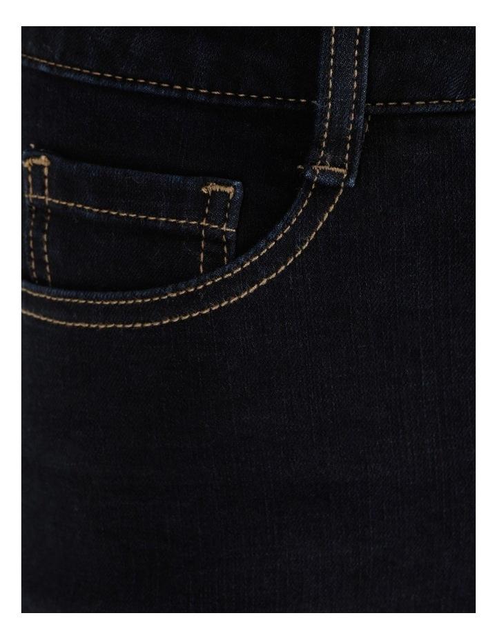Premium Shapewear Dark Blue Skinny Jean image 7