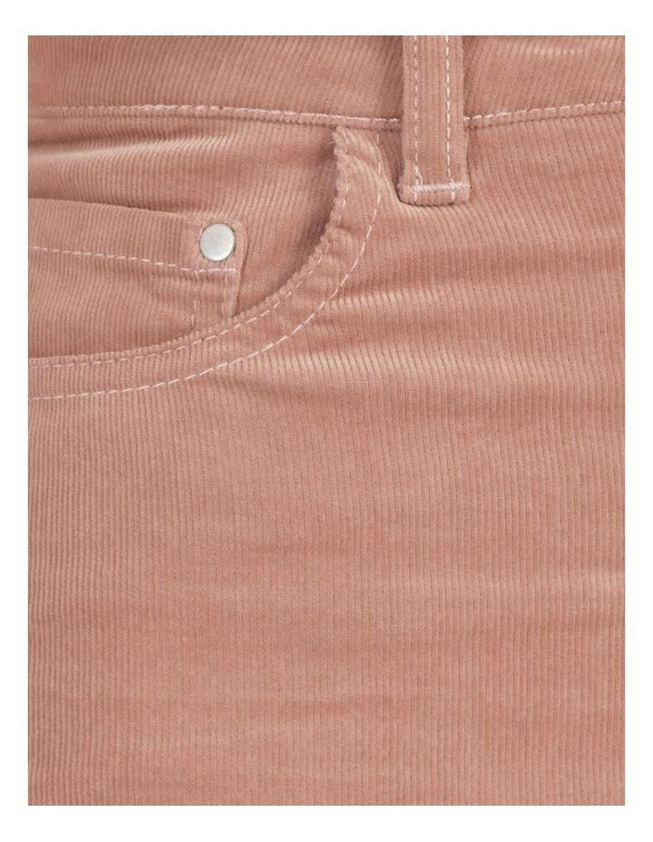 Soft Cord Mauve High Rise Skinny Jean image 6