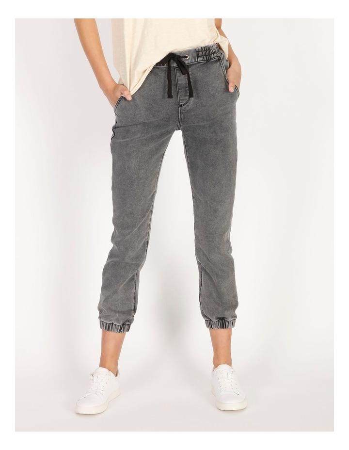 Denim Jogger Jeans image 1