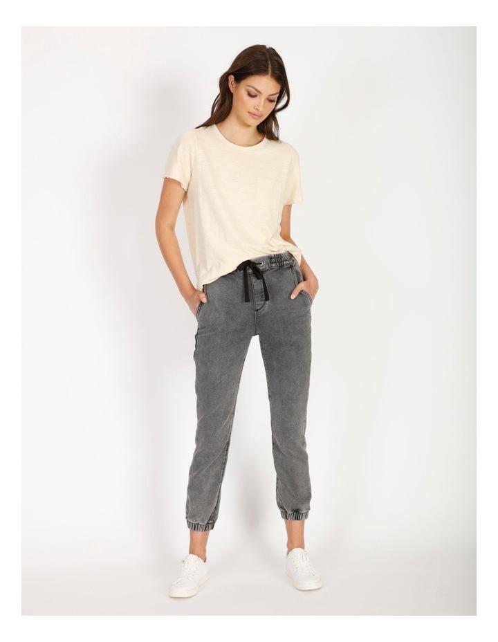 Denim Jogger Jeans image 2