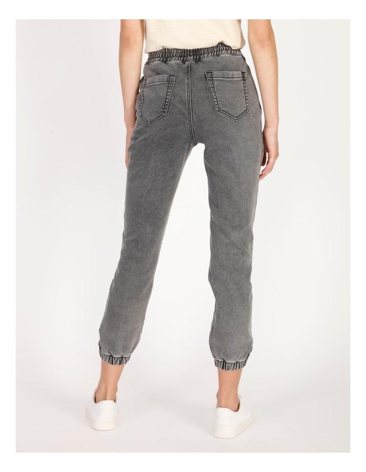 Denim Jogger Jeans image 3
