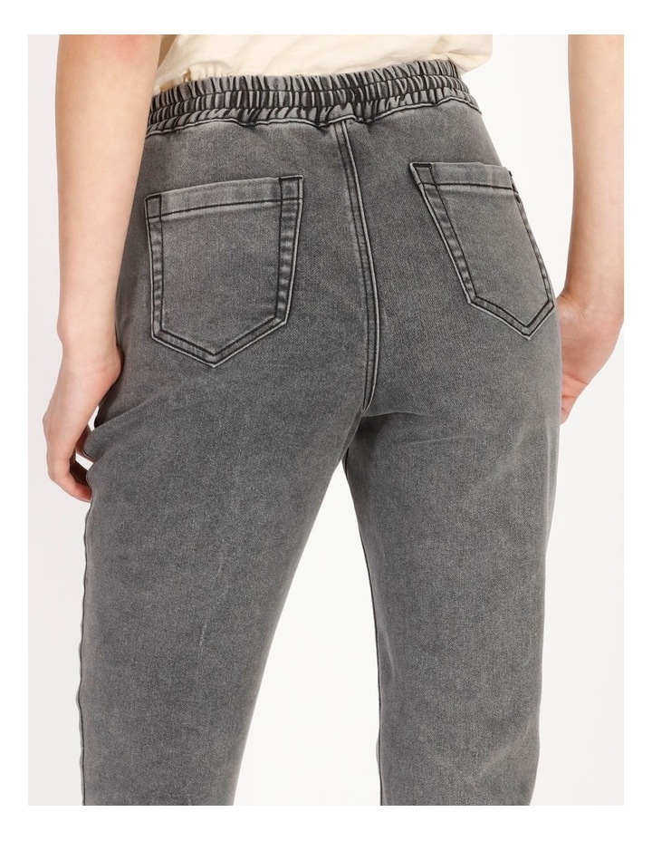 Denim Jogger Jeans image 4