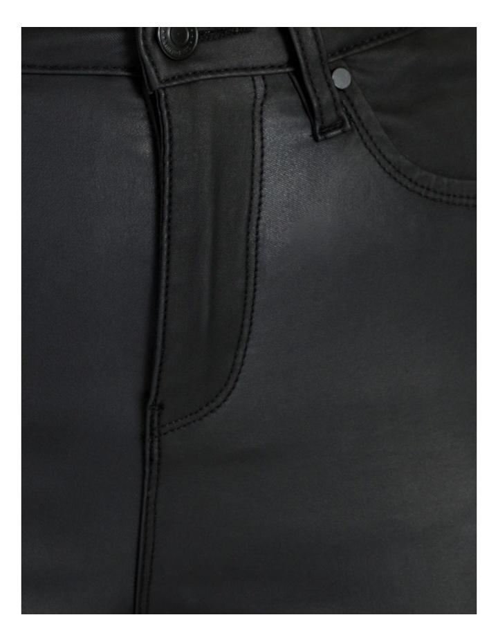 High Rise Skinny Coated Jean image 6