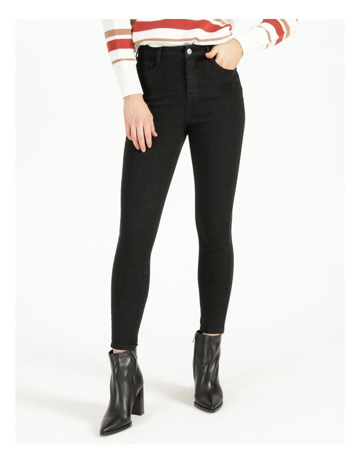 Premium Shapewear Black Skinny Jean image 5