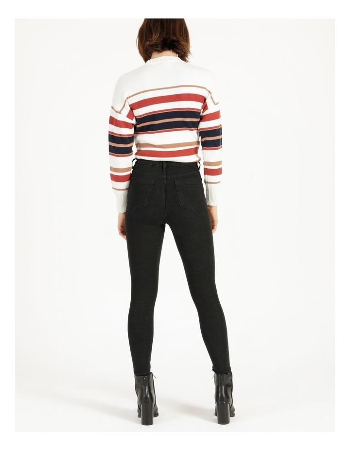 Premium Shapewear Black Skinny Jean image 6