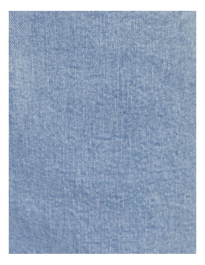 Bright Blue High Waisted Wide Leg Jean image 6