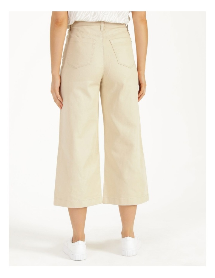 Natural High Waisted Wide Leg Jean image 6