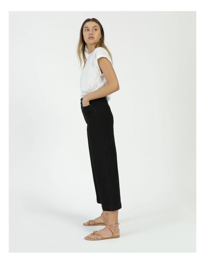 Wide Leg Jean Black image 3