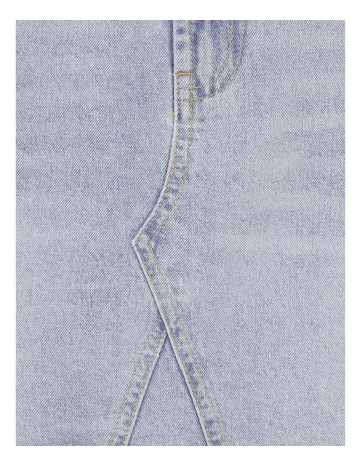Cut Off Denim Skirt Vintage Blue image 7