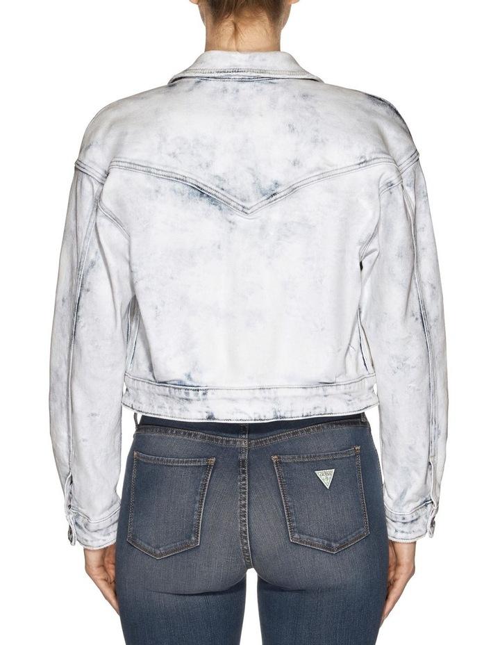 Cinched Waist Denim Jacket image 2