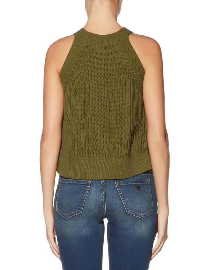 Sleeveless Carlie Crop Sweater image 2