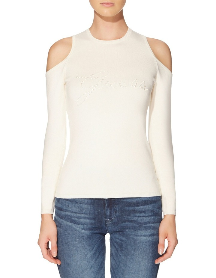 Holly Pearl Logo Sweater image 1