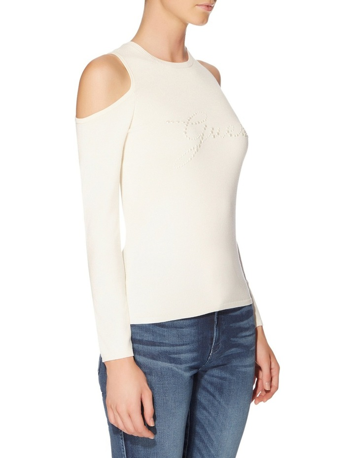 Holly Pearl Logo Sweater image 3